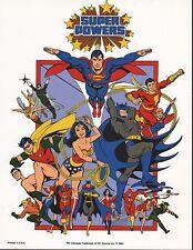 DC SUPER POWERS PRINT - TEAM (A)