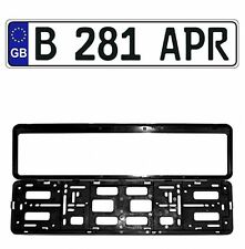 New Great Britain/UK EEC European Front License Plate(Random) & Mounting Frame