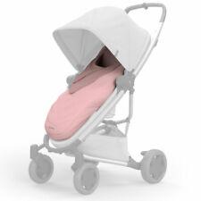 BRAND NEW Quinny Pushchair Buggy Pram Stroller Footmuff CosyToes Blush