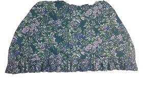 Laura Ashley Custom ruffle dresser scarf $16 44×27,very slightly used ,free shi