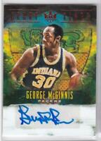 2018-19 GEORGE McGINNIS Auto #/99 Panini Court Kings Pacers