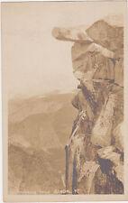RPPC,Yosemite,CA.Overhanging Rock,Glacial Pt.Used,Camp Curry Studio Photo,c.1925