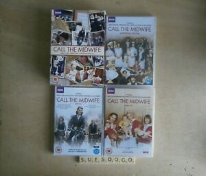 CALL THE MIDWIFE SERIES 1, 2 & CHRISTMAS SPECIAL JESSICA RAINE 6 DVD BOX SET NEW