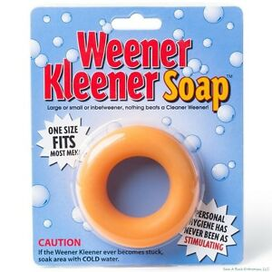 Weener Kleener Soap Weiner Cleaner - Joke Gag Gift Party Adult Gag Prank