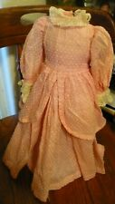 """16""""Antique Cotton Dress All Original for French German Bisque Fashion China Doll"""