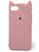 Fab Kate Spade New York  'Pink Cat' Silicone Case For iPhone 7