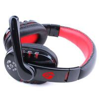 Wireless Bluetooth Stereo Headset Earphone Headphone For PC Laptop Smart Phone