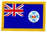 Patch écusson brodé Drapeau australie QUEENSLAND  THERMOCOLLANT FLAG