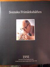 Sweden 1991  Year Stamp Set  Folder with Booklets  MNH  L96