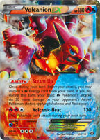 1x - Volcanion-EX - 26/114 - Holo Rare ex NM Pokemon XY Steam Siege