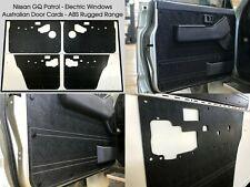 Black Nissan GQ GR Y60 PATROL Electric Window. Waterproof ABS Door Trim Panel