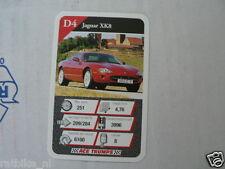 20 AUTOSALON D4 JAGUAR XK8 KWARTET KAART, QUARTETT CARD