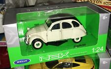 WELLY NEX CITROEN CITROËN 2CV 2 CV 4 6 scala 1/24