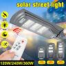 120/240/360W LED Lampione Stradale Faro Pannello Solare Telecomando Crepuscolare