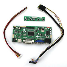 (HDMI + DVI + VGA) Lcd Controlador Convertidor Board LVDS Kit Para N156BGE-L41 15.6 LED Panel