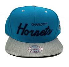 Mitchell & Ness Charlotte Hornets Special Script Adjustable Snapback Hat Cap NBA
