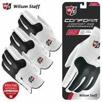 Wilson Staff Conform Gloves Leather Men's White - NEW! 2019 *MULTI-BUY*
