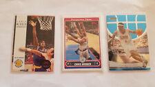 Chris Webber (3) Basketball Card Lot Skybox RC Topps Finest