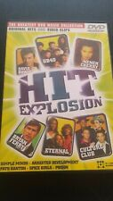 Music DVD - Hit Explosion / The greatest DVD music collection, 18 original clips