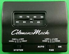 Coleman Mach Black Manual Wall Thermostat  Single Stage Heat/Cool RVP 7330F3852