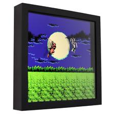 "Ninja Gaiden (Moonlight Duel) - 3D Shadow Box Frame (9"" x 9"")"