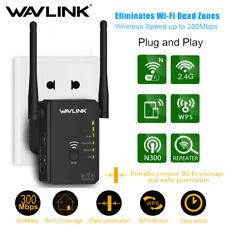 Wavlink 300Mbps Wifi Repeater N300 2.4G Range Extender WAN/LAN Router 2 Antennas