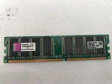 KVR400X64C3A/1G - 1 GB 128 M 64-BIT DDR400, X CL3 184 pin DIMM Memoria.