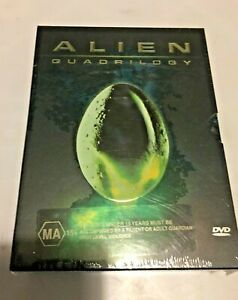 ALIEN QUADRILOGY  9 DISC COLLECTOR'S EDITION BOX SET               NEW & SEALED