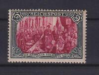 DR 66 IV Reichspost 5 Mark ungebraucht Fotoattest Dr. Oechsner (et6)