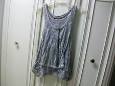 Guess Tank Top Gray Size Medium