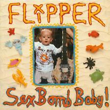 Flipper - Sex Bomb Baby! 180G LP REISSUE NEW 4 MEN W/ BEARDS San Francisco punk