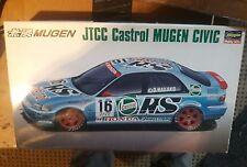 Hasegawa 1/24 JTCC Castrol Mugen Honda Civic vintage model kit Fujimi RARE. USA