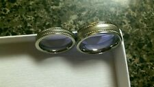 Titanium his and hers wedding bands sz. 11 and 7