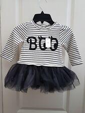 NWT Baby Gap BOO Halloween Tutu Dress 6-12 months