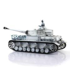 Us Stock 2.4G 6.0 Panzer Iv F2 Henglong 1/16 Snow Rtr Rc Tank 3859 Metal Tracks