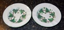 Wedgwood Napoleon Ivy Ashtrays(2)  Very Good Condition ~ Fast Free Shipping!