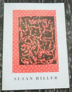 SUSAN HILLER exhibition catalogue ICA Out of Bounds by Lucy Lippard c. 1986