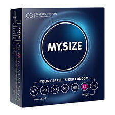 Condoms My Size 64MM 3 Pieces Size 64 mm My Size Sex Shop Toy