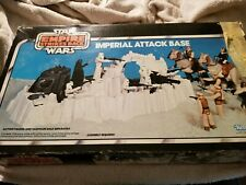 Star Wars Imperial Attack Base Playset Complete box Empire Strikes Back 1980