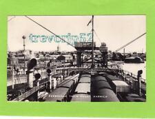 Harwich Zeebrugge Train Ferry unused RP pc  Ref C326
