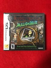 Mystery Case Files: MillionHeir (DS, 2008) Brand New Factory Sealed 227