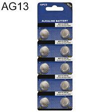 Decent 10Pcs AG13 LR44 1.5V Alkaline Button Coin Cells Watch Battery Batteries
