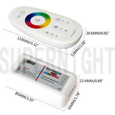 2.4G RF Touch Wireless Remote Control Dimmer Controller for RGB LED Strip Light