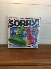 Sorry Game Board Family Boardgame Kids Fun Parker Brothers Hasbro 2013 Edition
