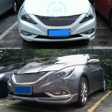 Chromed Mesh Cover Car Front Grille Grill For Hyundai Sonata 8 2011-2015