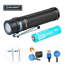 OLIGHT S2R II 1150 Lumens USB Magnetic Rechargeable Side Switch LED Flashlight