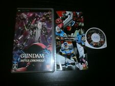 Game Psp Jap : Gundam Battle Chronicle - Complete Tbe