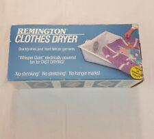 Vintage Remington Electric Clothes Dryer Portable Camping Fine Washables