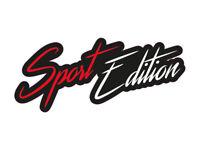 1 x Aufkleber Sport Edition Special Font Schriftzug Tuning Power Turbo Sticker