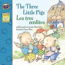 The Three Little Pigs/Los Tres Cerditos by Patricia Seibert (English) Paperback
